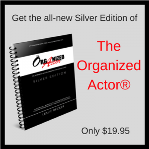 The Organized Actor-Sliver Edition