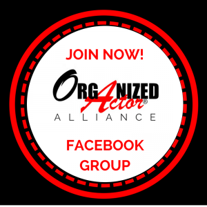 The Organized Actor Alliance Facebook Group