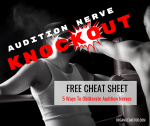 Audition Nerve Knockout-The Organized Actor